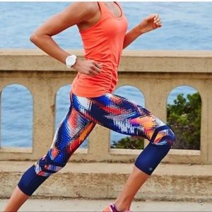 Athleta Fasted Track Breathe Tank in Coral Sizzle